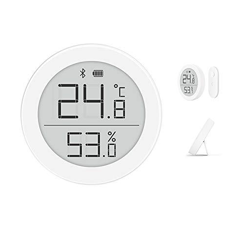Cleargrass Hochpräziser Bluetooth-Temperatur- und Feuchtigkeitsdetektor H-Version, Babyraummonitor mit 1-Jahres-Knopfbatterie, Unterstützung der Homekit-Smart-Gerätesteuerung