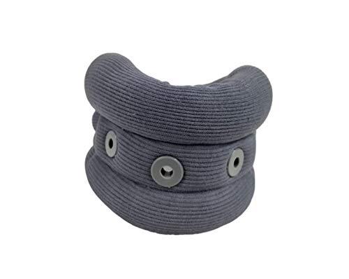 Wonder Care Cervical Collar for Neck Pain Soft Neck Support Brace for Spondylitis Neck Pain Relief for Men Women Grey Large 4 45