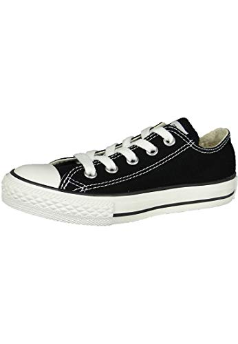 Converse CT All Star Ox Black Kids Trainers Size 11 UK