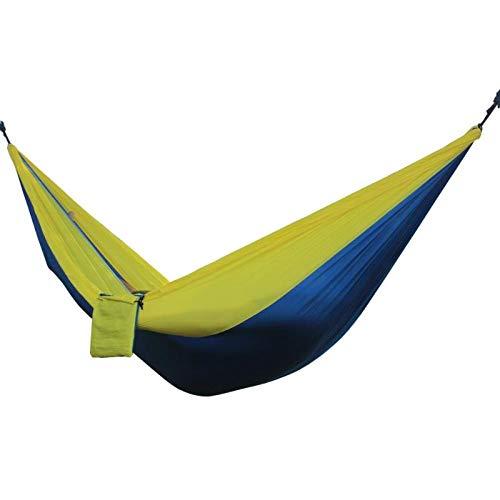 Bureze extérieur Double Parachute Tissu Hamac élargir Le Swing Outdoor Leisure Barbecue de Camping Pique-Nique Intérieur Leisure Chambre à Coucher Hammo