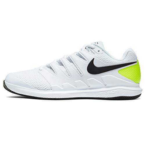 Nike Air Zoom Vapor X HC Aa8030 Zapatillas de tenis para hombre, Blanco (negro, blanco (White/Black-Volt)), 40 EU