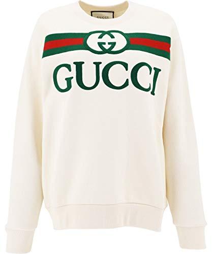 Gucci Luxury Fashion Damen 469250XJCCG9230 Weiss Sweatshirt | Frühling Sommer 20