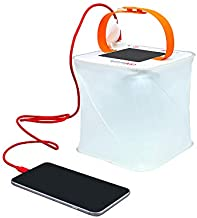 LuminAID PackLite Max 2-in-1 Camping Lantern and Phone Charger   For Backpacking, Emergency Kits and Travel   As Seen on Shark Tank