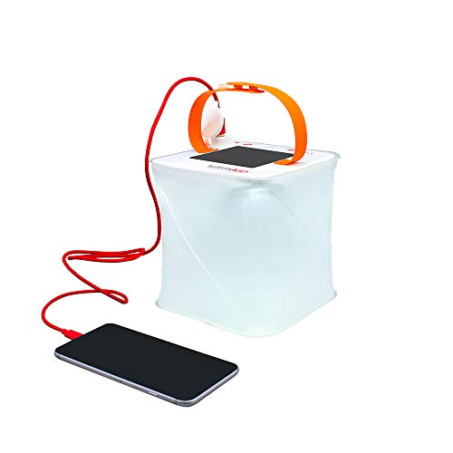 LuminAID PackLite Max 2-in-1 Camping Lantern and Phone Charger | For Backpacking, Emergency Kits and Travel | As Seen on Shark Tank