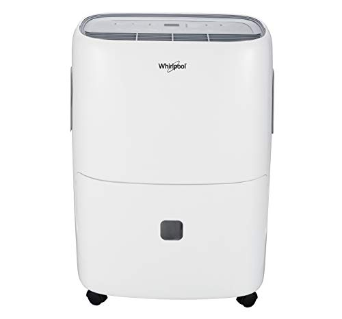 Whirlpool 40 Pint Dehumidifier with Pump, WHAD40PCW, White