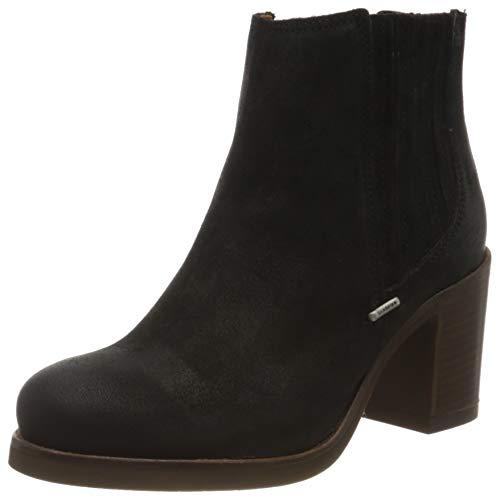 Shabbies Amsterdam Damen Lieve Chelsea Boots, Schwarz (Black 0001), 42 EU