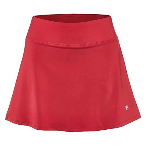 Fila Women's Core Flare 15'' Tennis Skorts, Crimson, XL