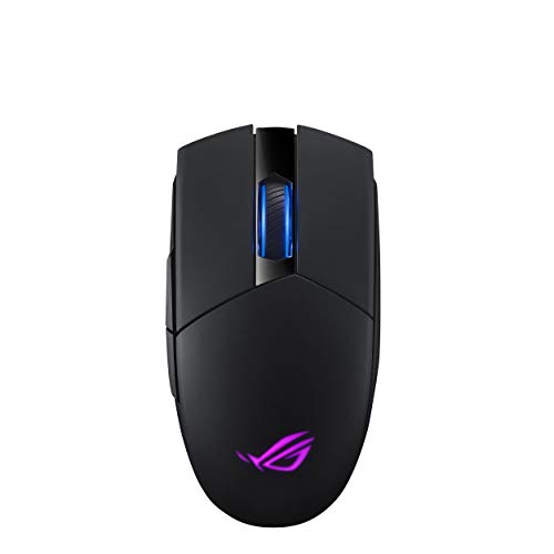 Asus Rog Strix Impact II Wireless - Ratón de Gaming (Wireless de 2.4 GHz, 16.000 dpi, Cinco Botones programables)