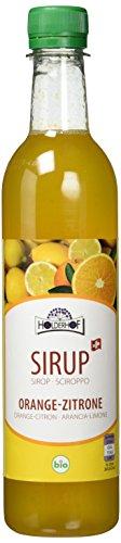 Holderhof Sirup Orange-Zitrone, 6er Pack (6 x 500 ml)