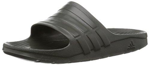 adidas Duramo Slide - Zapatillas de playa y piscina unisex para adultos, color, talla 40 2/3 EU