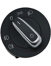ZEALfix Control del Interruptor de la luz antiniebla del Faro 5ND941431A para Caddy Passat CC Touran