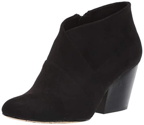Bella Vita Women's Kira II Ankle Bootie Boot, Black Suede, 7.5 N US