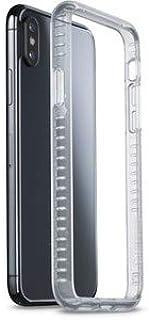 غطاء هاتف ايفون اكس من سيلولار لاين لاين، شفاف