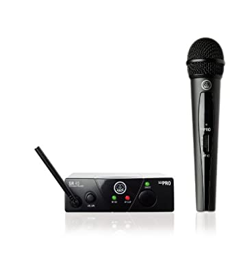 AKG WMS40 Wireless Mini Single Vocal Microphone Set, Band 45a from AKG