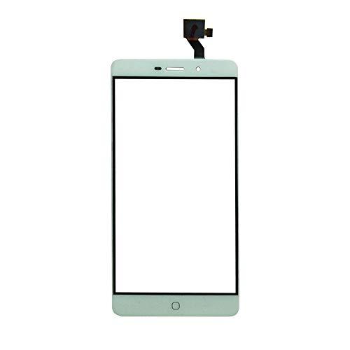 JayTong Pantalla de Repuesto Digitalizador Pantalla Táctil Frontal Vidrio con Gratis Herramientas para Elephone P9000 / P9000 Lite / P9000E (Not LCD Display) Blanco