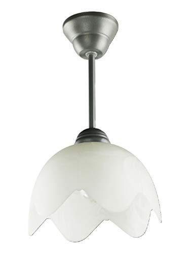 Soffitto Lampada a sospensione Lampadario candeliere lampada a muro Lampada da terra Cyrconia B grigio