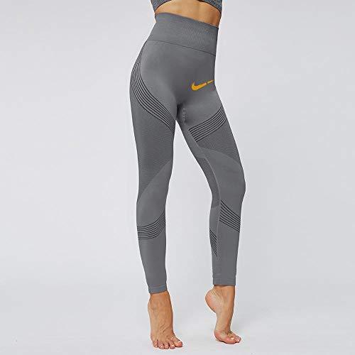 Yoga legging voor dames hoog,Zachte panty met print, nude yoga legging-E_L,Harem hippiebroek voor dames