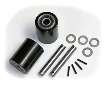 Mighty Lift ML55 Load Wheel Kit, Assemblies, W/ Bearings, Axles