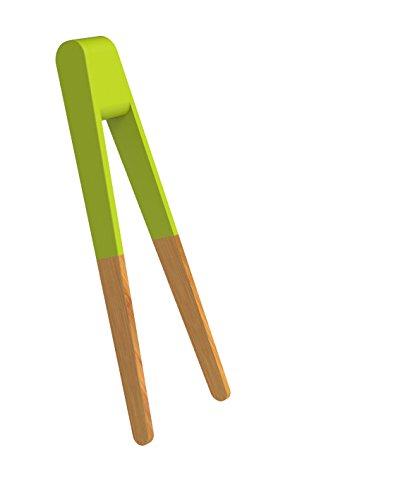 Pebbly NBA050 Pince à Sushi Bois Vert
