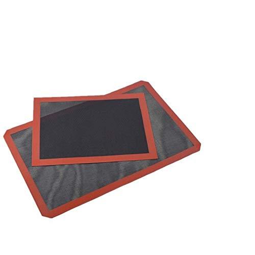 wxzdq 2Pcs Hohe Temperatur Braten, Netto, Brot Backen Matte, Ofen Backen Net, Lüftungs - Rösten Net, Silicagel - Matte - Netz,370Mm 570.