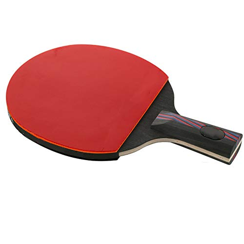 Best Deals! Ping Pong Paddle Floor Tennis Racket Professional Training Competition Table Tennis Rack...