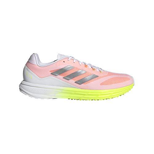 adidas SL20.2 M, Zapatillas de Running Hombre, FTWBLA/Plamet/Amasol, 42 EU