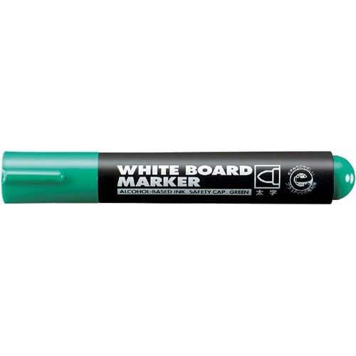 ホワイトボード用マーカー(太字)緑インク 10本入