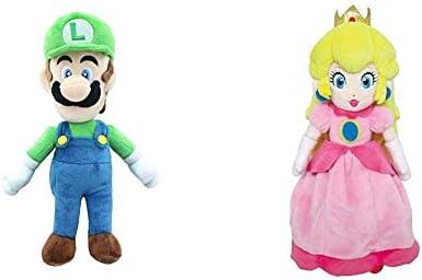 10,Multi-Colored Little Buddy Super Mario All Star Collection 1415 Luigi Stuffed Plush