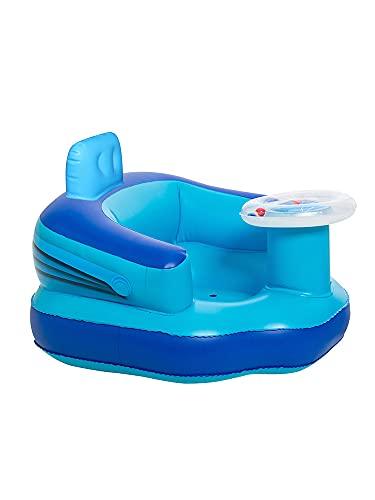 Babystoeltje, Baby leren stoel multifunctionele opblaasbare stoel badstoel draagbare babyspeelbank babybadstoel veiligheid comfortabel zacht en veilig zittend badzitje (standaard)