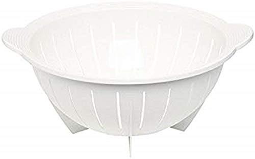 Emsa 2131281200 Seiher/Küchensieb, Durchmesser 28 cm, Weiß, Superline
