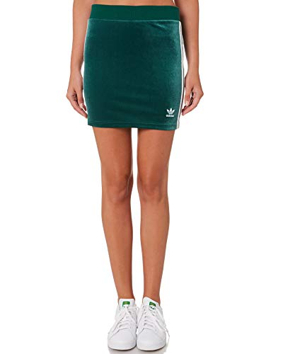 adidas Originals MINIGONNA DV2582 SKIRTSDRESSES CGREEN MODA DONNA FASHION