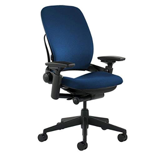 Steelcase Office Chair, Blue -