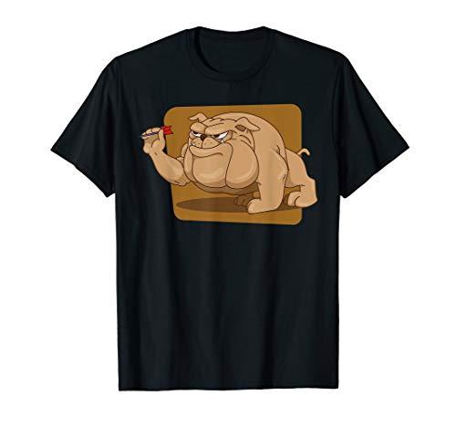 Legende Dart Pfeil Liebe Wurf Turnier Flight Tshirt Hund T-Shirt