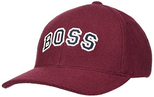 BOSS C_zavarsy Gorra de bisbol, Dark Red602, Talla única para Mujer