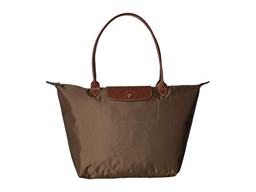 Longchamp Le Pliage Shoulder Bag Large Khaki One Size