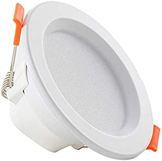 TGRBOP Downlight Empotrado En El Techo 8W 9W 12W 18W Accesorios De Iluminación Foco LED 3000K 4000K 6000K Lámpara De Panel LED 85-262V para La Decoración Interior De La Oficina De La Cocina