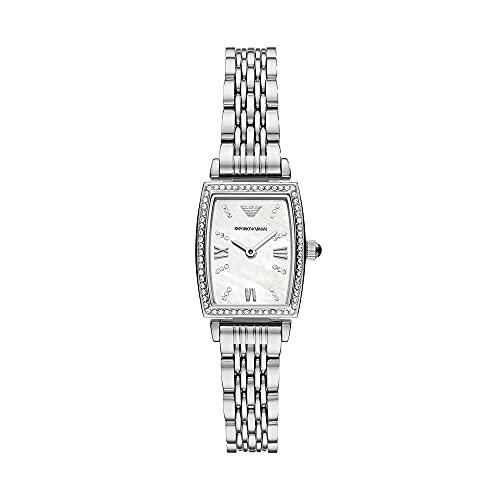 Reloj para mujer, de Emporio Armani, de acero inoxidable y con dos agujas, AR11405