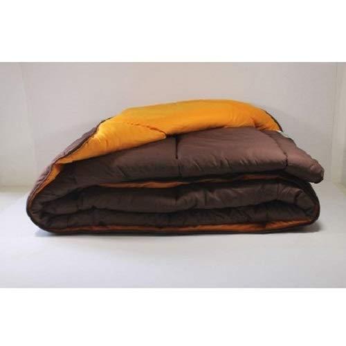 Trovador EDREDÓN Reversible Ref:6101, Bicolor: Naranja/MARRÓN - 240x270cm (135-150).