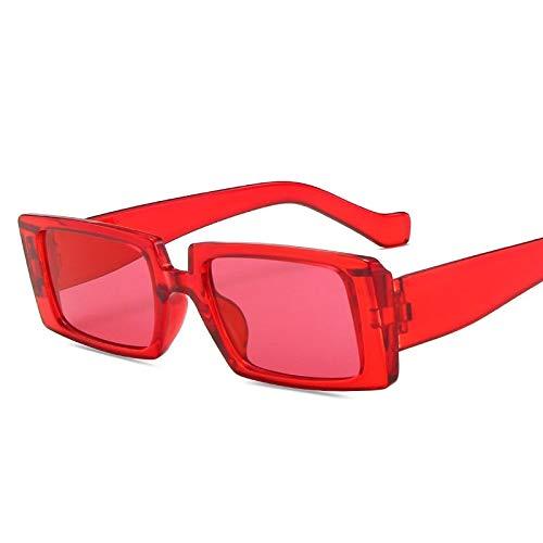 Gafas de Sol Hip Hop Shades Gafas De Sol De Diseñador De Lujo Marco Cuadrado Gafas De Sol Mujeres Hombres Gafas Vintage Retro Mirror 7