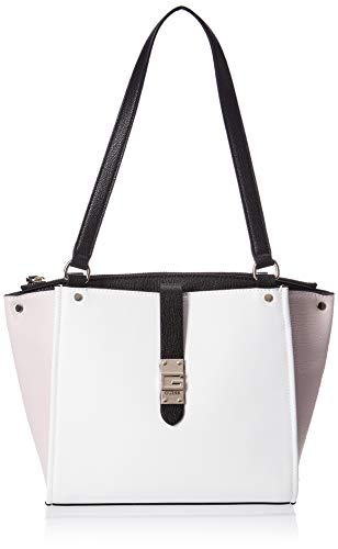 GUESS womens Bag, Shoulder Bag Carryall, White Multi, One Size US