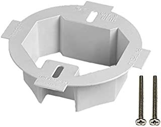 iMBAPrice BE1R 1-Gang 4.35-Inch x 1.5-Inch Plastic Electrical Ceiling Box Extender for 3.5