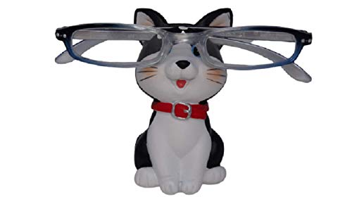 The Eye Glass Holding Co Cat Brillen Houder Bril Specs Zonnebril Volwassenen Kind Zwart & Wit