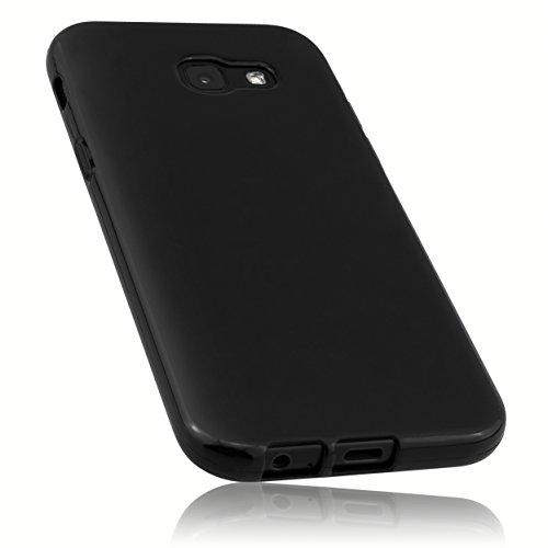 mumbi Hülle kompatibel mit Samsung Galaxy A5 2017 Handy Hülle Handyhülle, schwarz