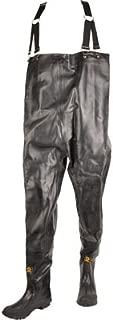 Herco Heavy Duty Rubber Chest Waders - Men's Size 16 (Black)