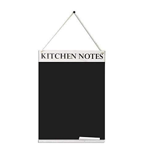 Chalkboards UK Kreidetafel für Küchennotizen, Holz, Holz, White Wash, A3 (42 x 30 x 1.6 cm)
