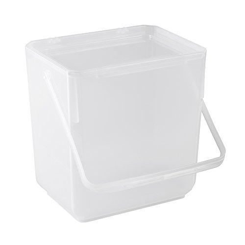keeeper Waschmittelbox 4,5 l, Polypropylen, Natur-transparent, 19 x 14.5 x 20.5 cm