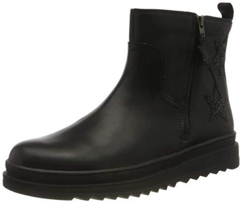 Geox Mädchen J GILLYJAW Girl B Ankle Boot, Black (Black), 39 EU