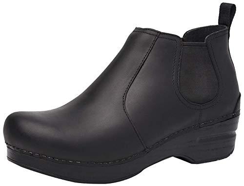 Dansko Women's Frankie Black Ankle Boot 8.5-9 M US