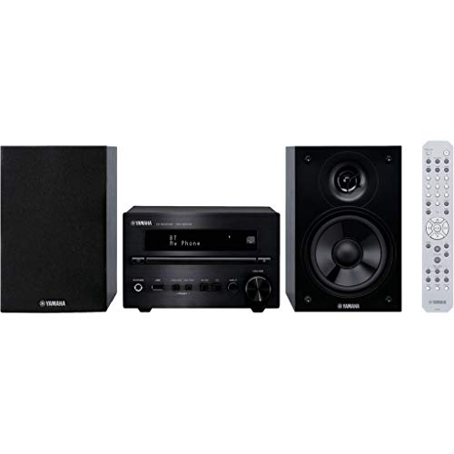Yamaha MCR-B270D - Microcadena Color Negro, Bluetooth 4.2, USB y Sintonizador Dab - Dab Plus-FM.