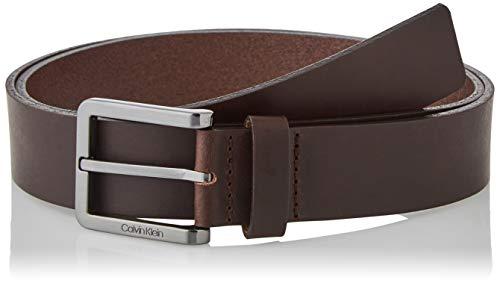 Calvin Klein Herren Essential Plus 35MM Grtel, Dunkelbraun, 95 cm